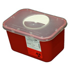 1 Gallon Sharps Container w/ Rotary Lid